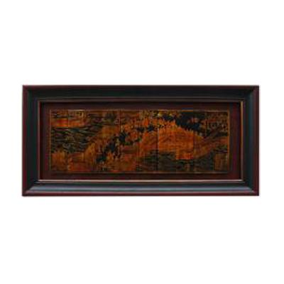 Leather Qingming River Scene
